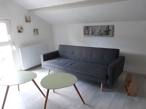 Appartement cosy récemment rénové
