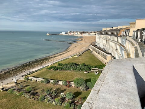 Best view of Margate from a private top floor flat