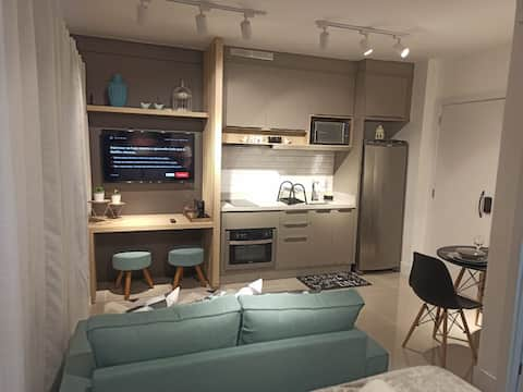 Lindo Studio na melhor localização de Curitiba