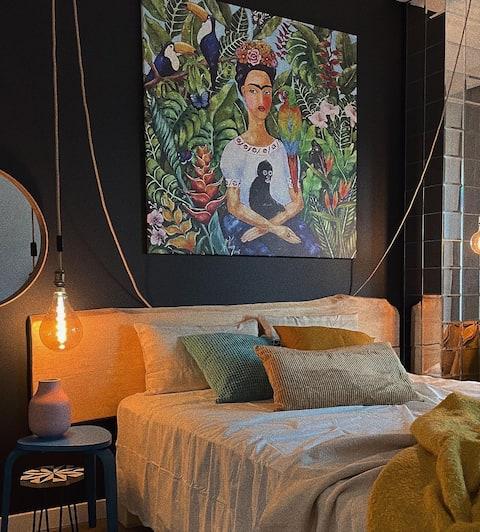 Uroczy apartament Art Marina z widokiem na rzeką