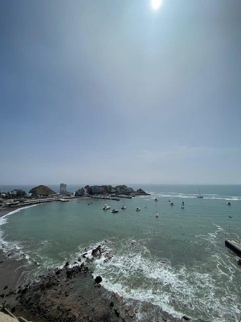 Hermoso Departamento con Increible Vista al Mar