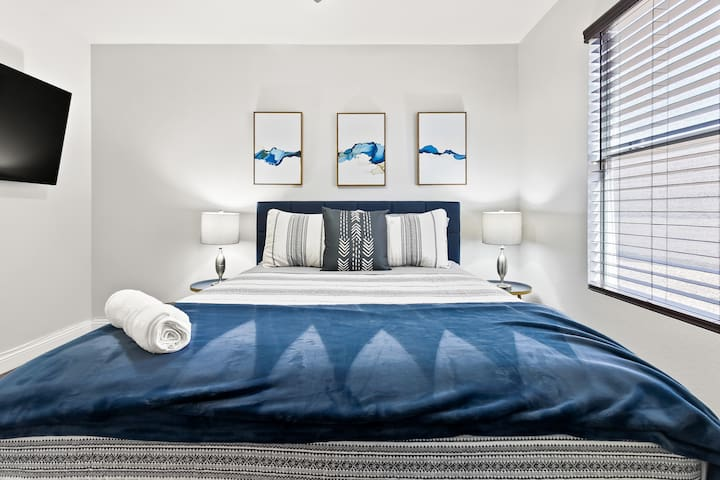 All of our beds are brand new and super comfortable!