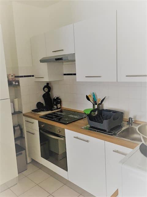 Joli appartement avec petite cours intérieure