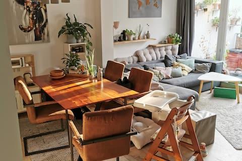 Moderne Wohnung mit Dachterrasse am Stadtpark