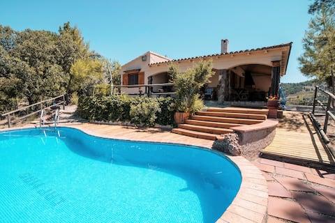 CapMas: maison avec piscine Priorat