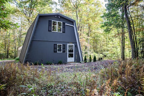 A-Frame Mountain Getaway in the Woods