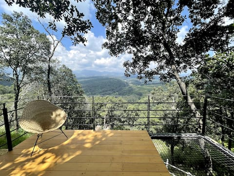 Chalet in Forest with Amazing Views