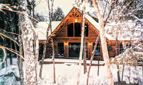 The Best Of Both Worlds/Suite Attached 2 Log Cabin