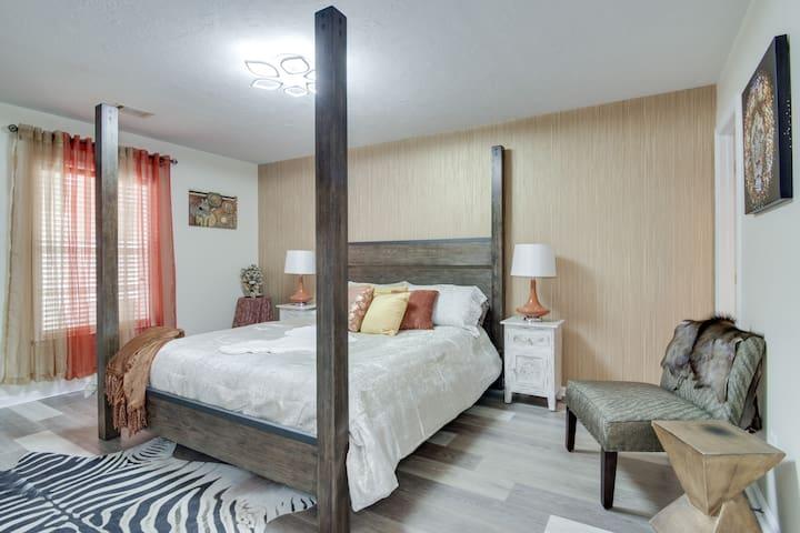 Africa bedroom
