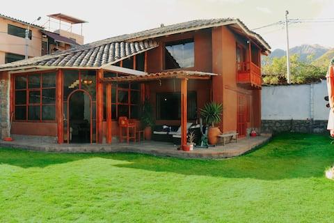 Casa Milagrosa en el Valle Sagrado de los Incas.