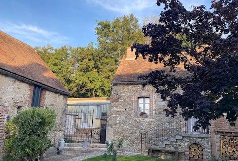 Maison fonctionnelle et cosy avec cheminée