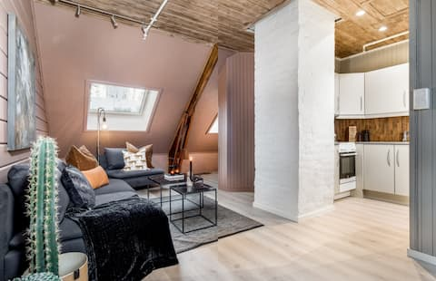 Charmante Wohnung in der Nähe des Stadtzentrums in Trondheim