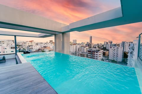 LUXURY & COZY APARTMENT WITH POOL+GYM @ Downtown⭐️