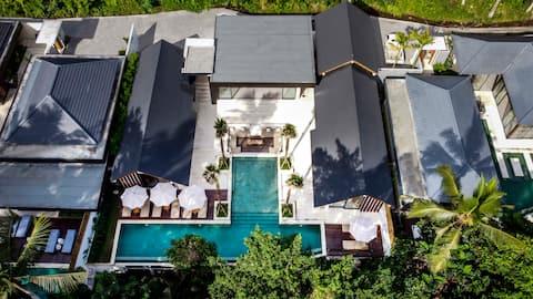 Stylish 5 Bdr Dream Villa w/ pool and Jungle view