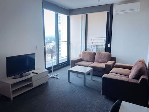 Private room within central Adelaide CBD apartment