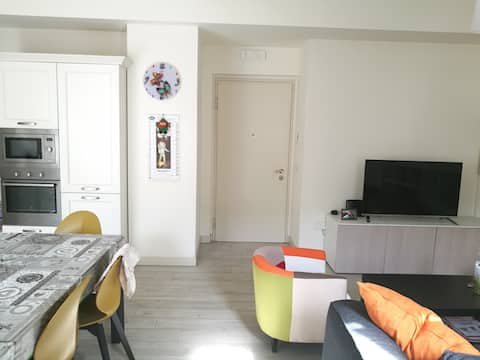 Private room in brand new apartment near the tower