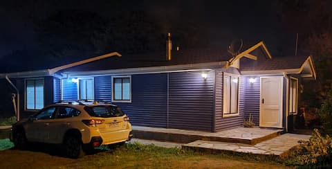 Agradable, cálida y cómoda cabaña  muy equipada