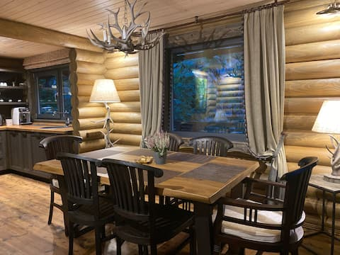 MOst marvelous Holiday house with sauna&hot tube