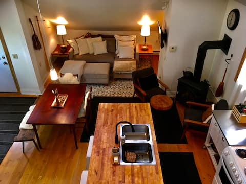 Nordic Loft , style and function downtown Hayward!