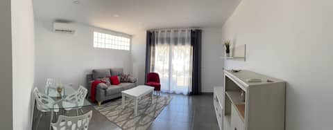Very nice apartment with private parking