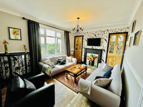 A spacious, stylish, four story Victorian Property
