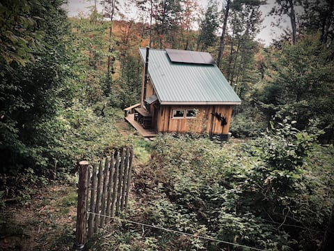 Off Grid Secluded Cabin on 37 Acre Farm