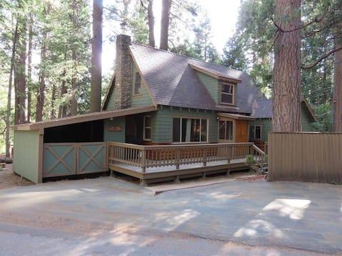 Traditional Wood Cabin Getaway