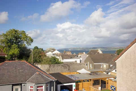 Stranraer Seafront Apartment with Loch Ryan Views