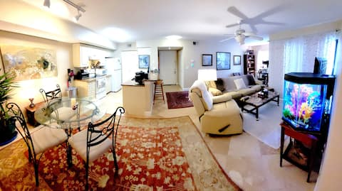Feel at home in this lovely furnished condo
