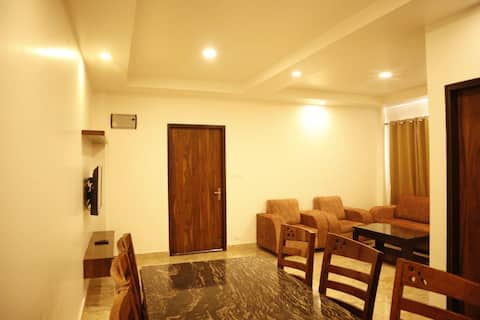 Premium 2 BHK Town House for a group of 4 Adults