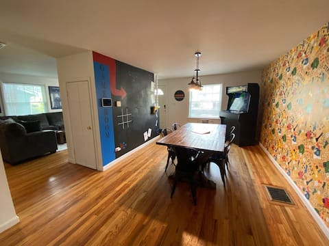 The Game Room! Fun for the whole family...