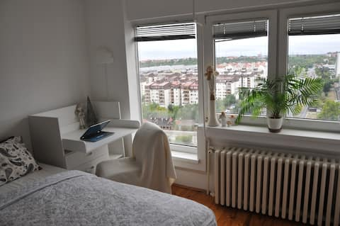 Spacious apartment with exceptional view
