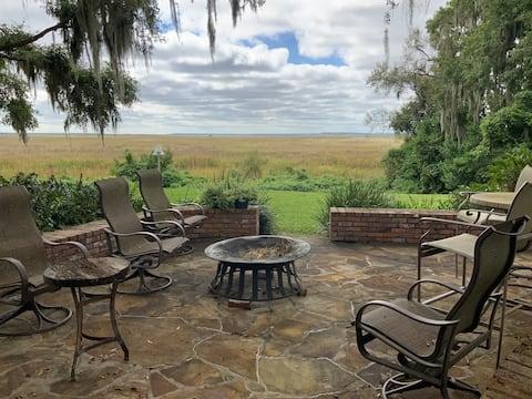 Serenity on the Marsh, Main House