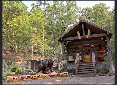 The Cozy Moose at Fox Pass Cabins