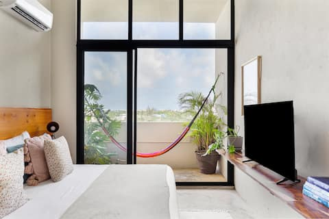 Loft 17/4th floor inside Cancun's heart