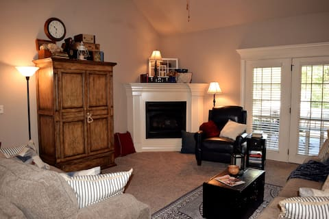 The Haven:  A cozy, comfortable retreat.