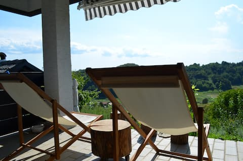 GREENHILLS 4* Relax & Holiday House in nature
