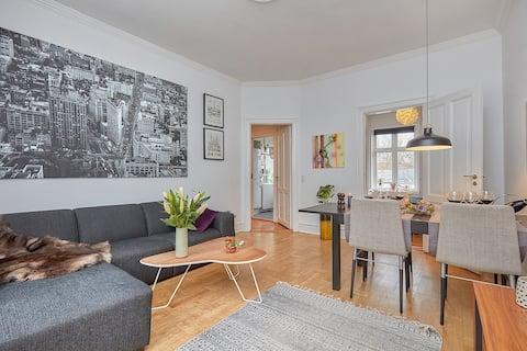 Precioso apartamento con servicios en el corazón de Lyngby