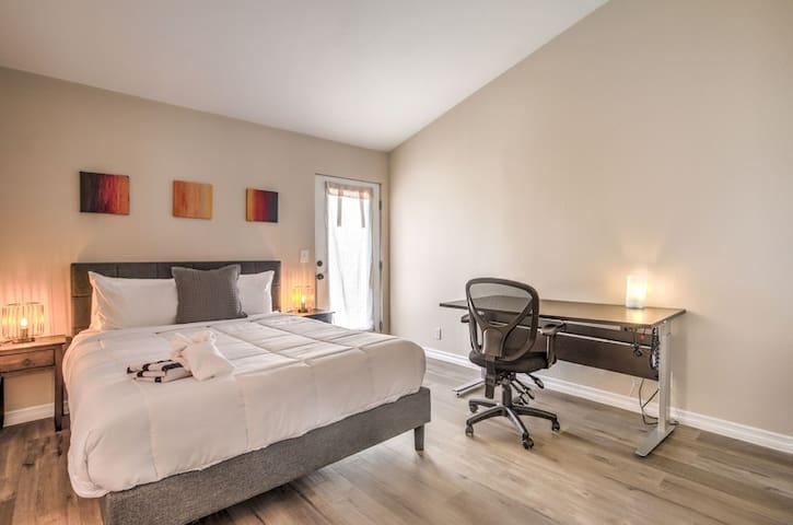 After a busy day spent hiking or in The Strip, our bedrooms will be your welcome retreat!
