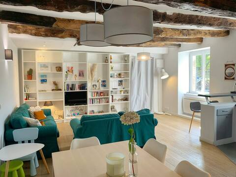 Relaxing & Cosy family home StMalo/Dinan/Rennes♥
