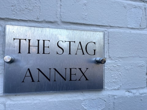 The Stag Annex; cosy countryside apartment.