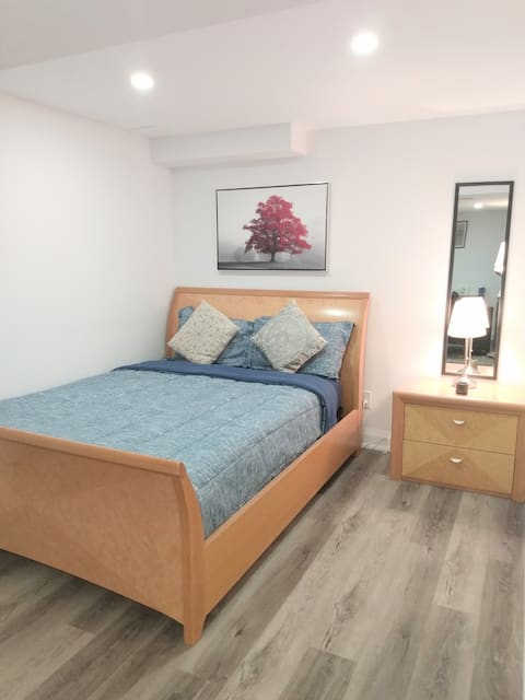 Brand New Basement Apartment with Free parking!
