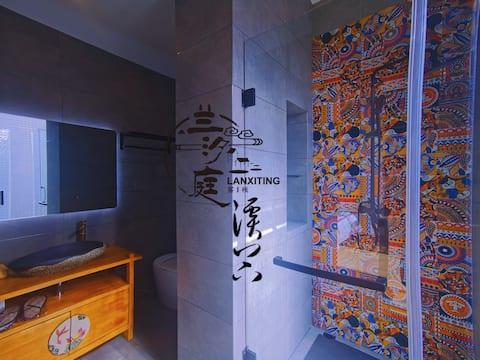[万峰林景区]兰汐庭客栈温馨亲子房/超大落地窗/特色定制床铺/独立浴室/免费停车场/免费接机