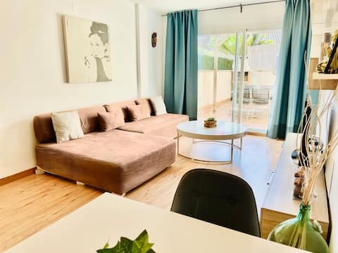 Duplex with private terrace and WIFI
