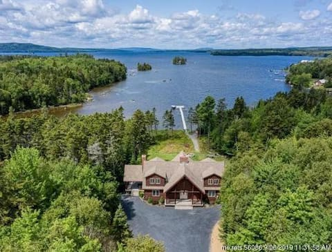 Lily Bay Chalet, Waterfront, Private Chef and more