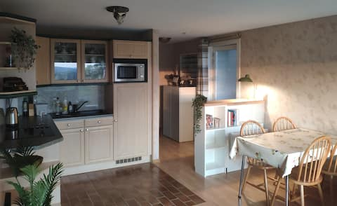Apartment with beautiful view near Durbuy