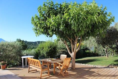 Provence-Verdon Petit havre de paix pleine nature