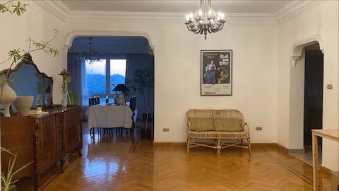 Private room in a charming apt, Nile view, Manial