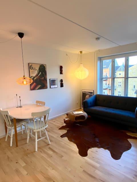 Hyggelig studio, downtown Odense