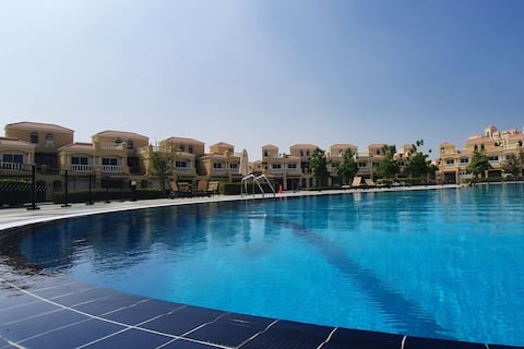 Spacious Villa with terrace close to the sea